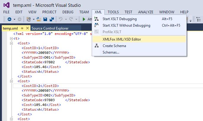 XMLFox XML & XSD Editor - Visual Studio Marketplace